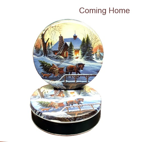 Heading Home Gift Tin with 4 Way Insert