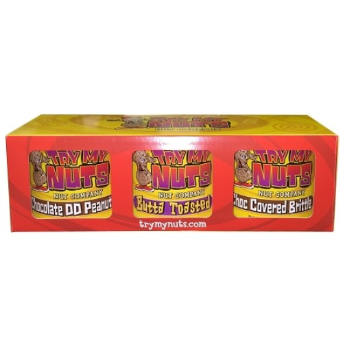 Try My Sweet Nuts 3 Pack Gift Box