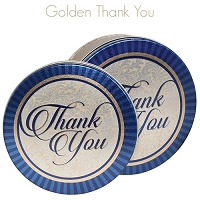 Thank You Gift Tin with 4 Way Insert