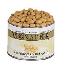 Virginia Diner Maple & Bacon Peanuts 10 oz. Can