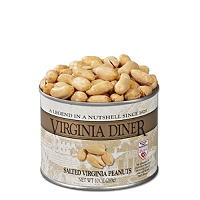 Virginia Diner Salted Peanuts 10 oz. Can