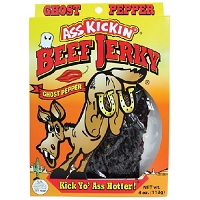 Ass Kickin' Ghost Pepper Beef Jerky