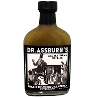 Dr. Assburn's Fresh Crushed Jalapeno Pepper Sauce