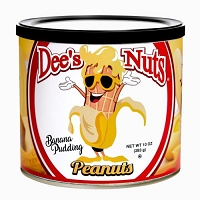 Dee's Nuts Banana Pudding Peanuts