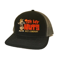 Black Trucker Snapback Hat