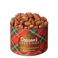 Season's Greetings Butter Toasted Peanuts 10 oz.