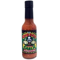 The Cheech Gnarly Garlic Habanero Hot Sauce