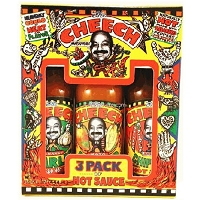 The Cheech 3 Pack Hot Sauce Gift Set