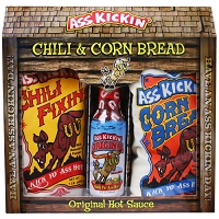 A** Kickin Chili & Corn Bread Gift Set