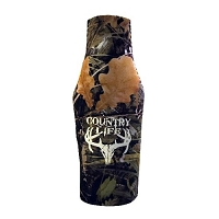 Country Life Camo Bottle Koozie