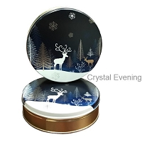 Crystal Evening Gift Tin with 4 Way Insert