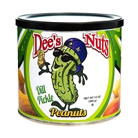 Dee's Nuts Dill Pickle Peanuts