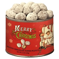 Norman Rockwell Dusted Chocolate Toffee Peanuts 12 oz.