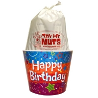 Birthday Nut Bucket