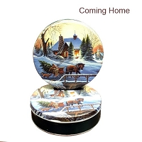 Coming Home Gift Tin with 4 Way Insert