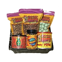 Hot Nuts Gift Basket