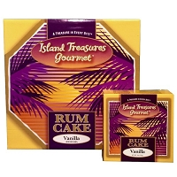Island Treasures Rum Cake - OUT OF STOCK