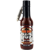 Mad Dog 357 Collector's Silver Edition w/ Bullet Key Chain Hot Sauce