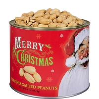 Norman Rockwell Santa Salted Peanuts 36 oz. -OUT OF STOCK