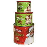 Norman Rockwell Themed Christmas Tower 3 Pack