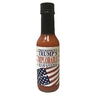 President Trump's Deplorable Hot Sauce