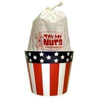 Stars & Stripes Nut Bucket