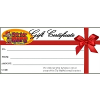 Website Gift Certificate $25
