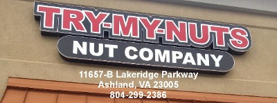 New Try My Nuts in Ashland, VA!