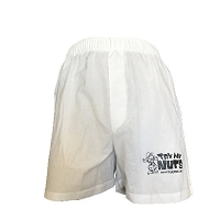 Try My Nuts Boxers (White)