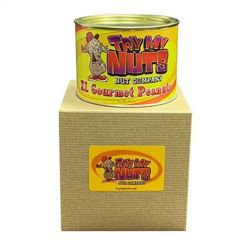 XL Virginia Salted Peanuts 20 oz. Tin with Box