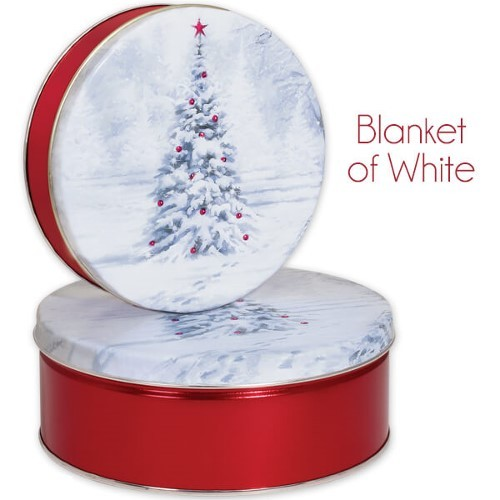 Blanket of White Gift Tin with 3 Way Insert