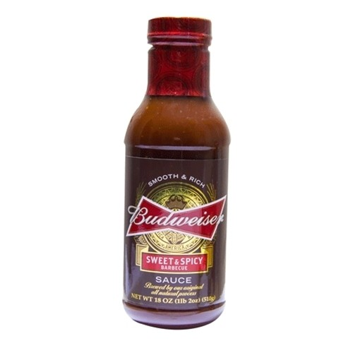 Budweiser Sweet & Spicy Barbecue Sauce