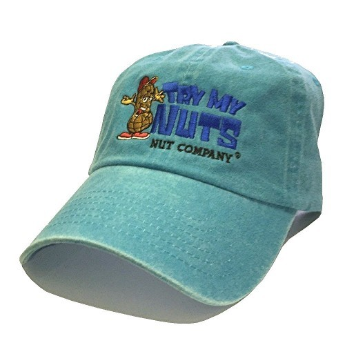 Baby Blue Embroidered Hat
