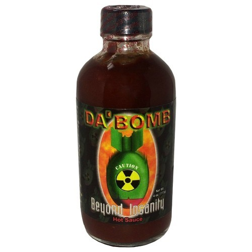 Da' Bomb Beyond Insanity Hot Sauce