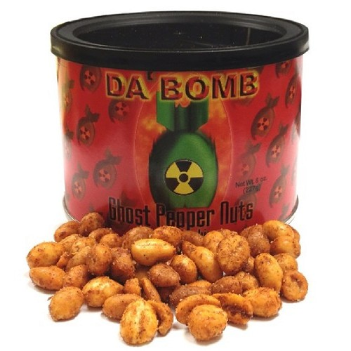 Da' Bomb Ghost Pepper Nuts - OUT OF STOCK
