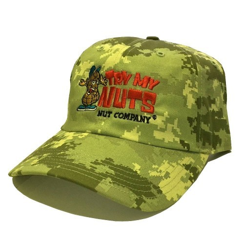 Digital Camo Embroidered Hat