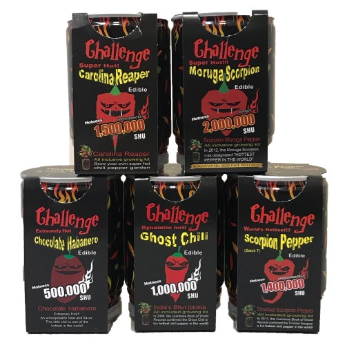 Grow Your Own Peppers 5 Pack