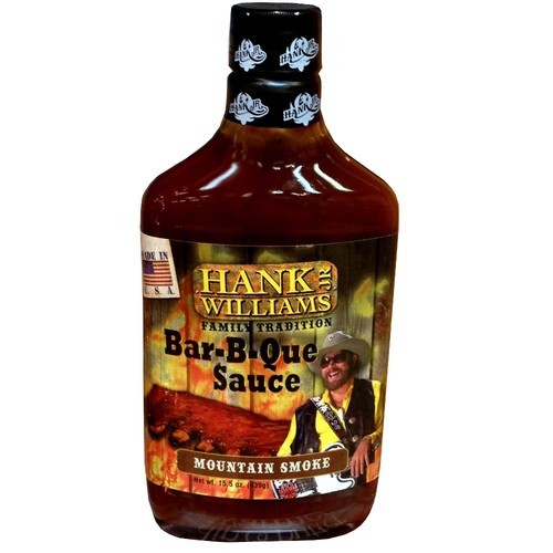 Hank Williams Jr. Family Tradition Mountain Smoke Bar-B-Que Sauce