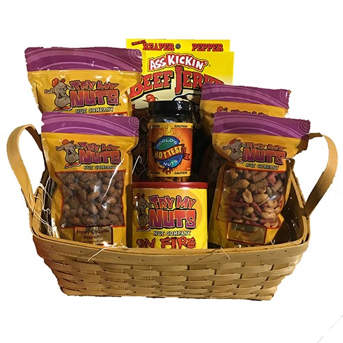Hot Head Gift Basket