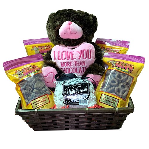 I Love You More Than Chocolate Gift Basket