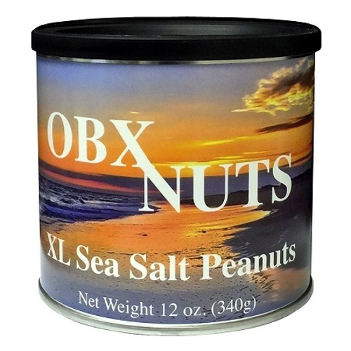 OBX Nuts XL Sea Salt Peanuts
