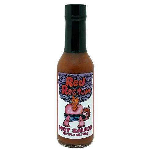 Red Rectum Hot Sauce