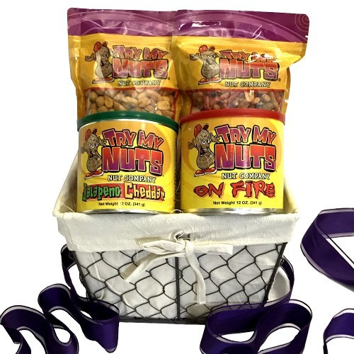 Spicy Nuts Gift Basket