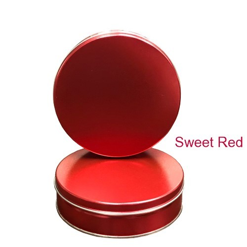 Sweet Red Gift Tin with 4 Way Insert