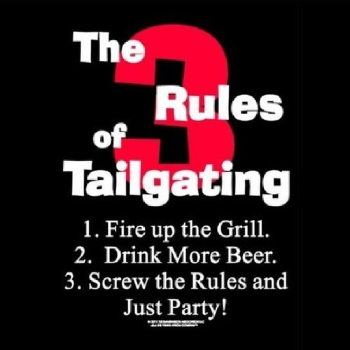 The 3 Rules of Tailgating Apron