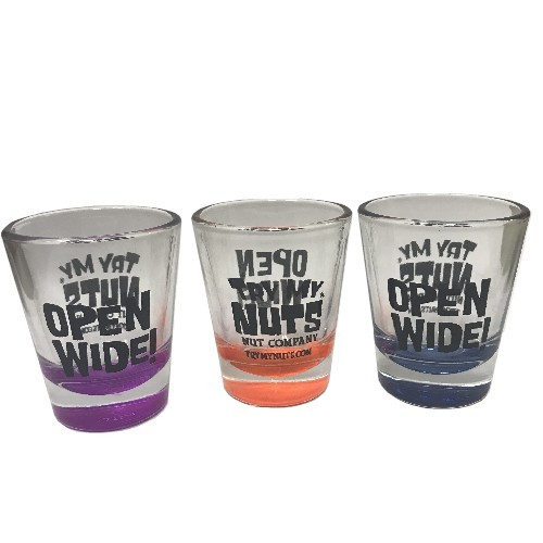 Try My Nuts Shot Glass
