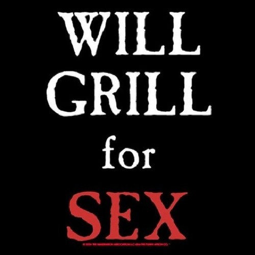 Will Grill for Sex Apron