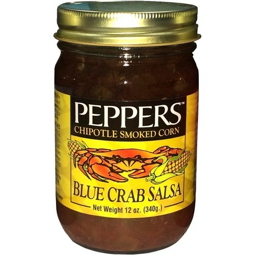 Peppers Chipotle Smoked Corn Blue Crab Salsa