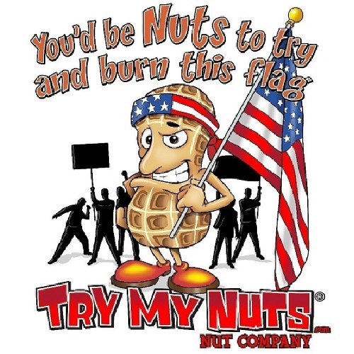Patriotic Nut T-Shirt